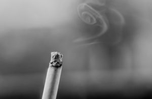 Cigarette smoke damages indoor air quality