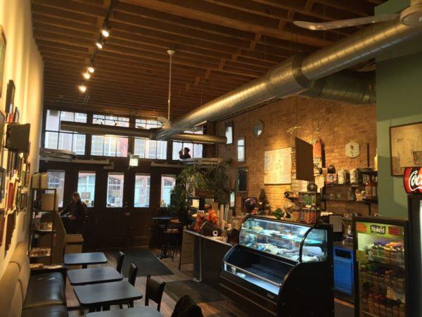 Jupiter Outpost coffee shop in Fulton Market