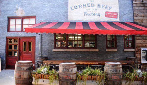 Corned Beef Factory in Fulton Market