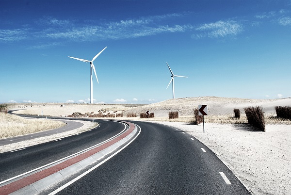 Clean energy surging due to windmills