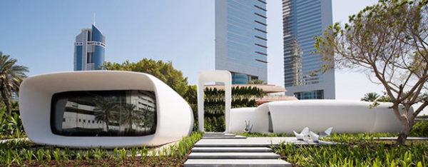 3D printed office buildings in Dubai