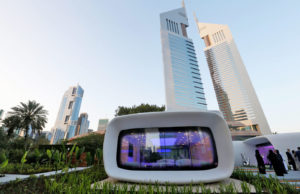 Innovative office building in Dubai