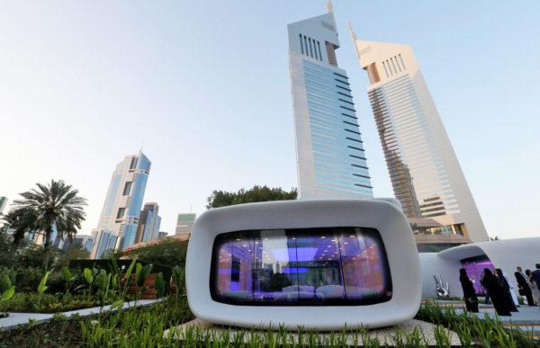 Innovative office buildings in Dubai