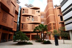 Masdar City buildings are LEAD certified