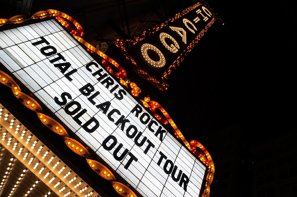 Chris Rock performs comedy at Chicago Theater