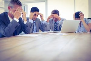 Office employees demonstrating presenteeism due to migraine headaches