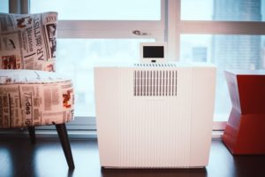 The Kuuboid XL Max air purifier features Nelior filters superior to HEPA standards