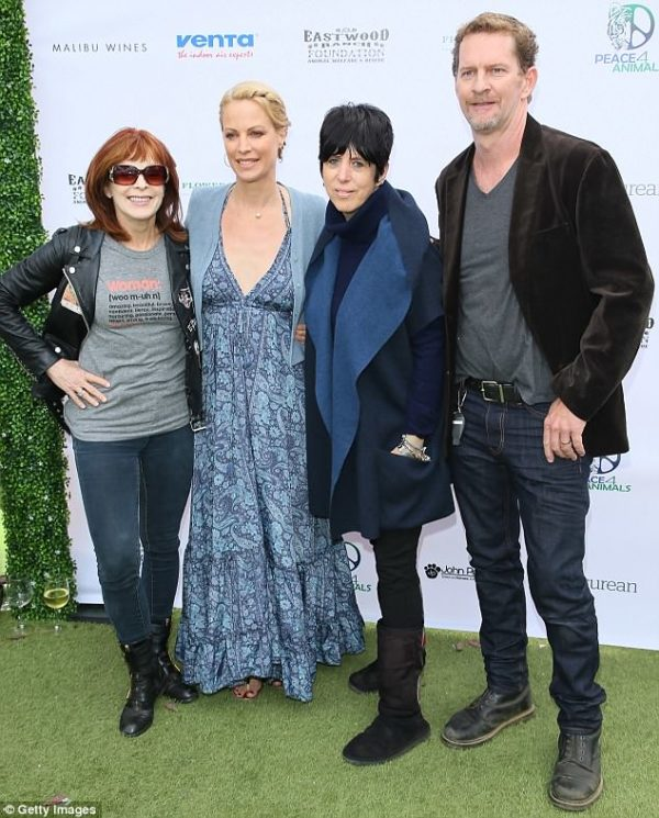 Titanic actress Frances Fisher attends Eastwood Ranch Foundation Fundraiser