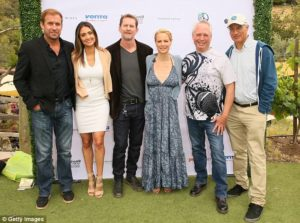 Attendees at Eastwood Ranch Foundation fundraiser pose for photos