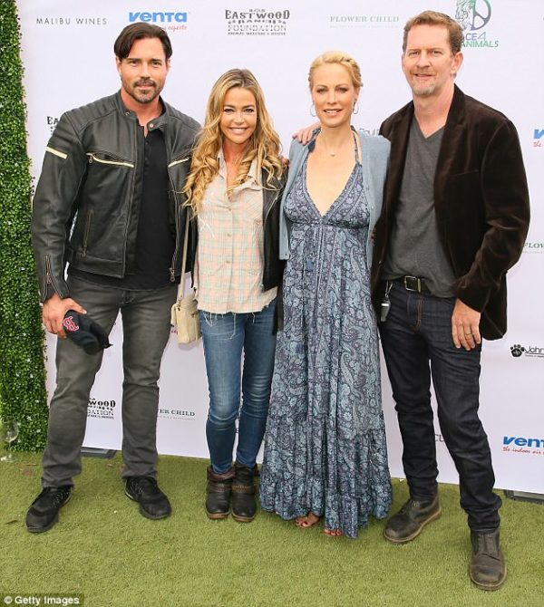 Denise Richards attends the Eastwood Ranch Foundation's fundraiser