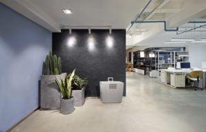 To improve office health and eliminate Sick Building Syndrome with an Airwasher