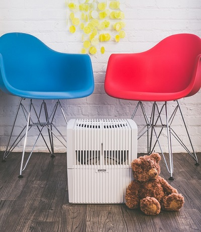 The Venta Airwasher provides relief for those with eczema